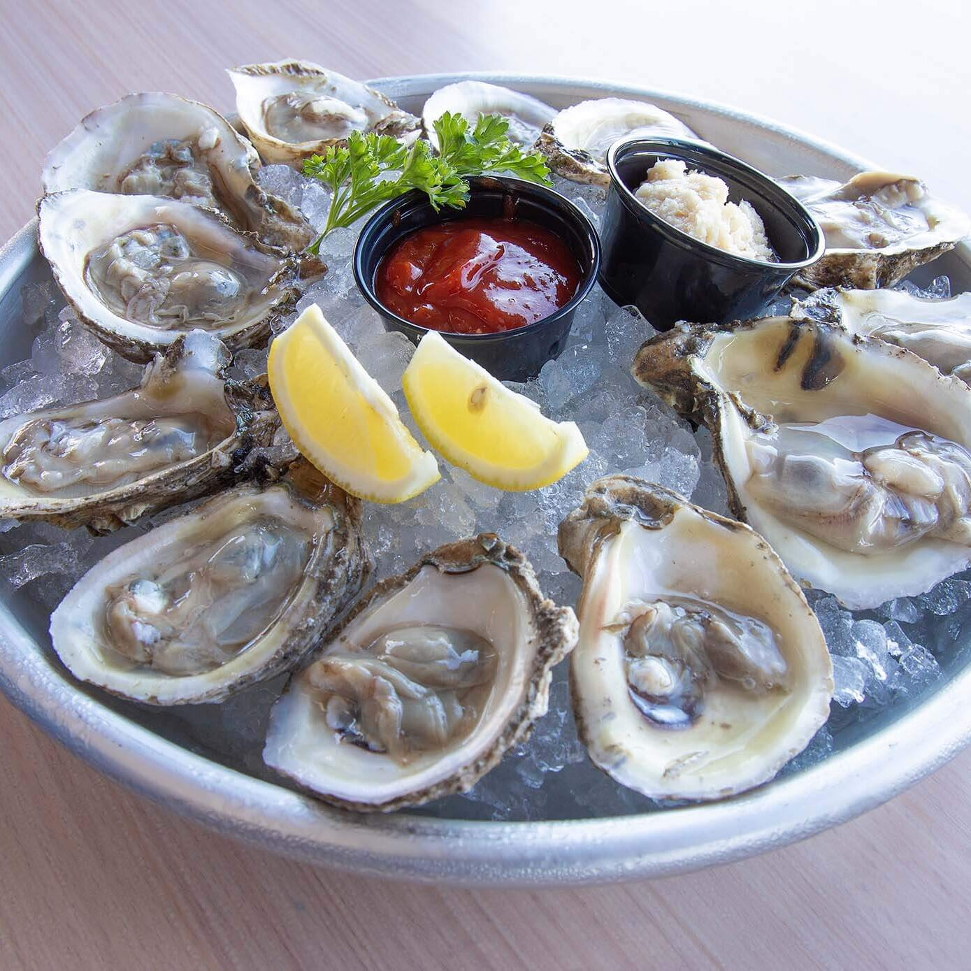 Raw Oysters-Monty's Lighthouse Cajun Bar & Grill- Lake Conroe